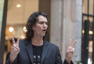 WeWork CEO Adam Neumann Visits Shanghai- techxmedia