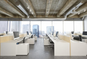 Interior Of A Modern Office At Business District-startup-techxmedia