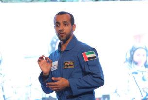 Hazzaa-al-Mansoori-Humans-in-Space-Symposium-2019-UAE