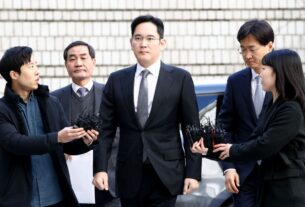 Prosecutors - Samsung Heir Jay Y. Lee Appears At Court For Corruption Retrial - TECHx