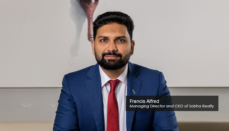 Francis Alfred, Managing Director and CEO-Sobha-Realty-techxmedia