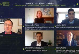 Senior-representatives-of-GE,-United-Airlines,-Good-Harbor-Security,-and-Dublin-City-University-debate-cybersecurity-at-(GMIS2020-Digital-Series)-cybercrime-techxmedia