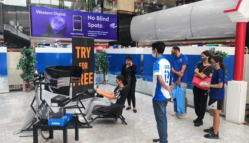 ASBIS gaming roadshow-techxmedia