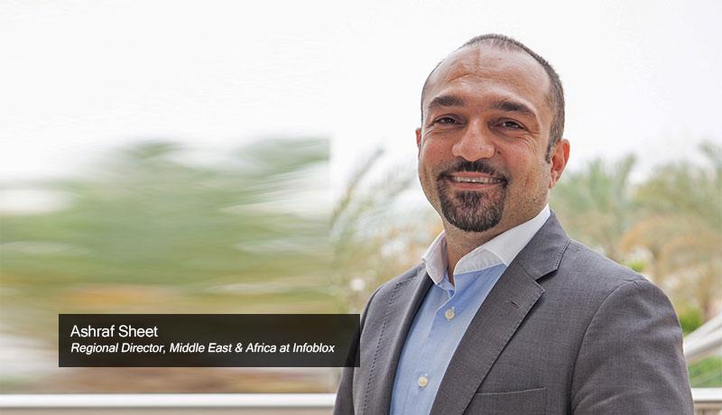 Ashraf-Sheet,-Regional-Director,-Middle-East-&-Africa-at-Infoblox-workforce-techxmedia-DDoS attacks