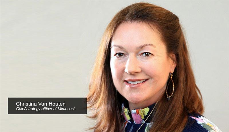 Christina-Van-Houten,-Chief-Strategy-Officer,-Mimecast- Azure Sentinel-techxmedia