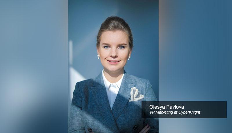 Olesya-Pavlova,-VP-Marketing-at-CyberKnight-Immersive Labs-techxmedia