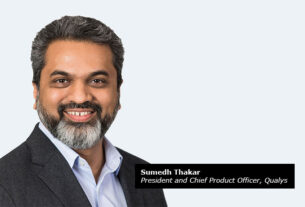 Sumedh-Thakar,-president-and-chief-product-officer,-Qualys-VMDR-techxmedia