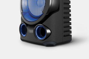 MHC-V83D mold cabinet with corner protectors-sony-techxmedia