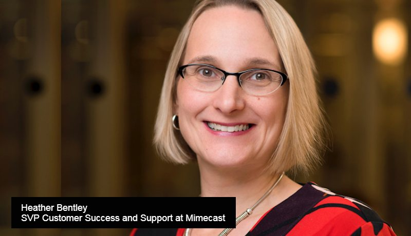 Heather Bentley, SVP Customer Success and Support at Mimecast-Data Quadrant Awards-techxmedia