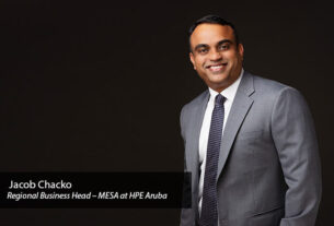 Jacob-Chacko-Regional-Business-Head-–-Middle-East,-Saudi-&-South-Africa-(MESA)-at-HPE-Aruba-IT teams-TECHx
