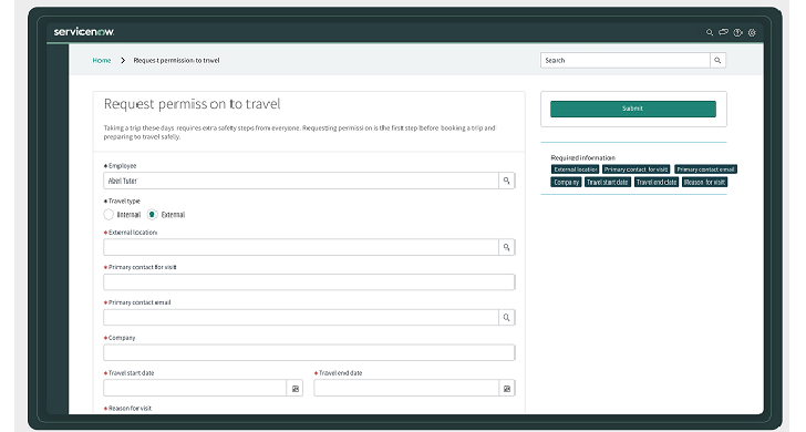 ServiceNow - emergency- travel app--ServiceNow-techxmedia