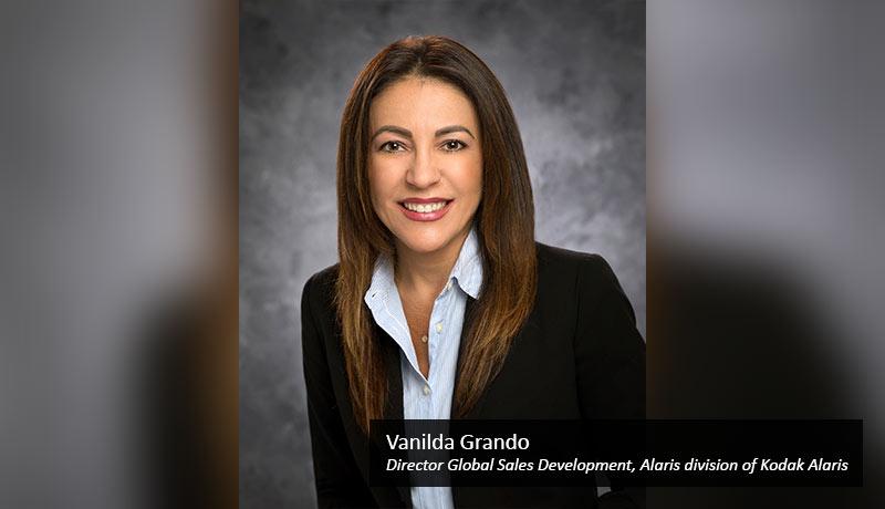 Vanilda-Grando,-Director-Global-Sales-Development,-Alaris-division-of-Kodak-Alaris-UiPath-techxmedia
