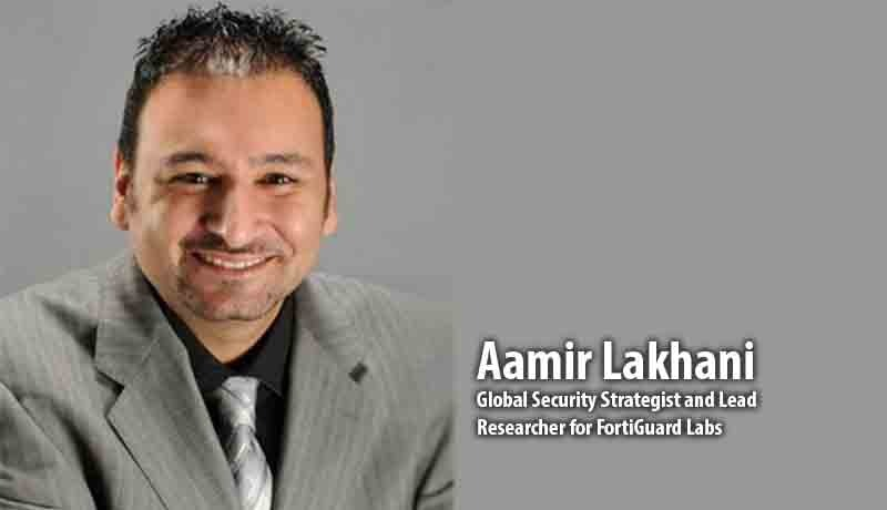 Aamir Lakhani- Global Security Strateg - threat landscape - Techxmedia