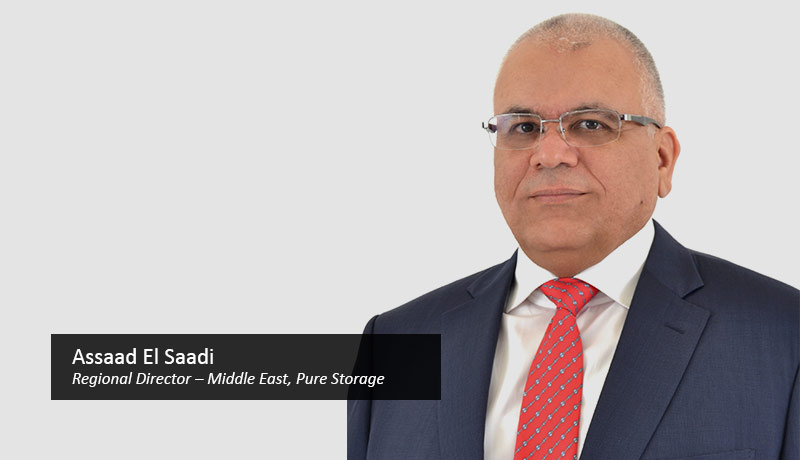 Assaad-El-Saadi,-regional-director-–-Middle-East,-Pure Storage enterprise -TECHx