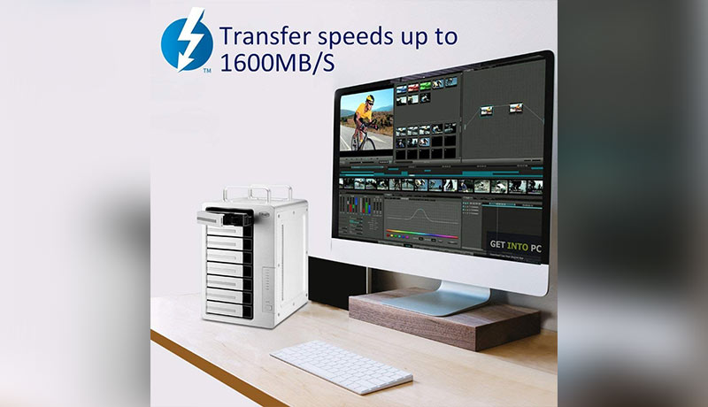 D8-Thunderbolt-3-8-Bay-RAID-Storage-techxmedia