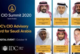 ICT - virtual IDC CIO Summit - IDC -KSA - TECHx