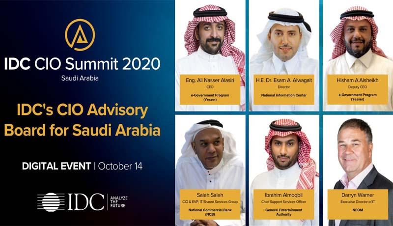 ICT - virtual IDC CIO Summit - IDC -KSA - TECHx