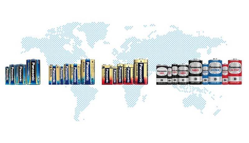 Panasonic - dry batteries - batteries - TECHx