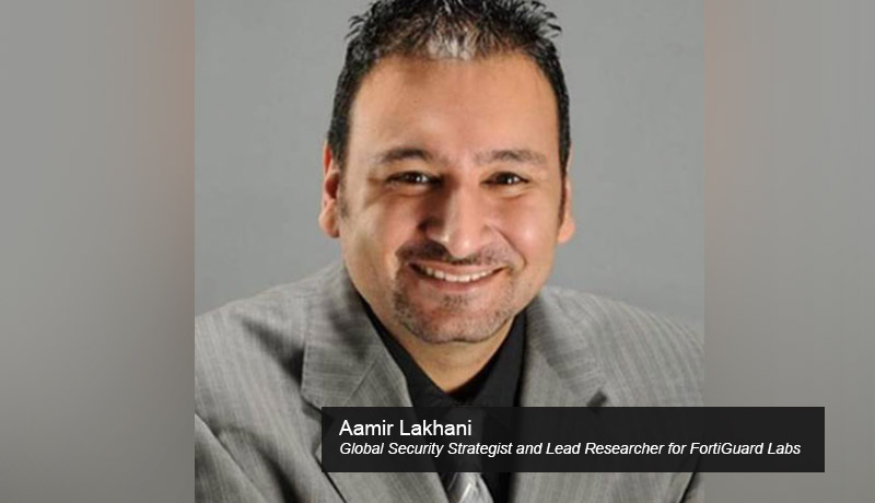 Aamir-Lakhani-Global-Security-Strategist-and-Lead-Researcher-for-FortiGuard-Labs-Fortinet - shopping safely online - cyber Monday - TECHxmedia