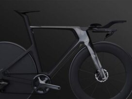 Bike-on-Black_Render - Decathlon - sustainable bicycle - Autodesk generative design - Techxmedia