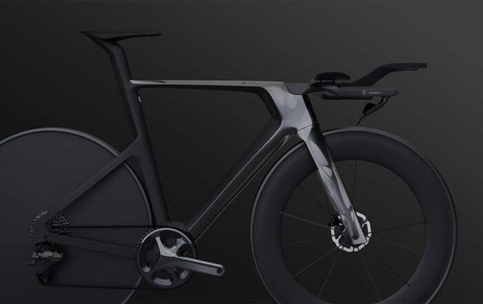 Bike-on-Black_Render - Decathlon - sustainable bicycle - Autodesk generative design - Techxmedia