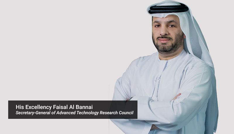 His Excellency Faisal Al Bannai, Secretary-General of Advanced Technology Research Council- TII-techxmedia