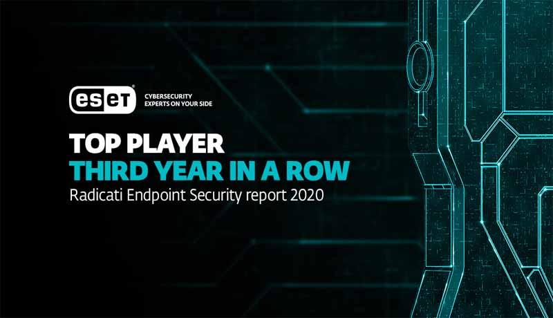Radicati - ESET - Top Player - 2020 Market Quadrant - TECHxmedia