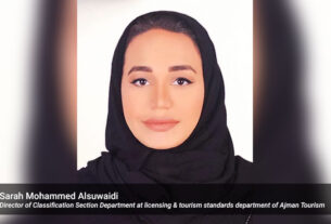 Sarah-Mohammed-Alsuwaidi,-Director-of-Classification-Section-Department-at-licensing-&-tourism-standards-department-of-Ajman-Tourism-techxmedia