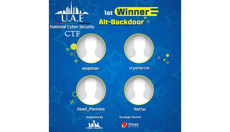 TM-UAE---Alt-Backdoor Majd-Sinan-Trend-Micro - Trend Micro - sixth annual UAE CTF Competition - Techxmedia