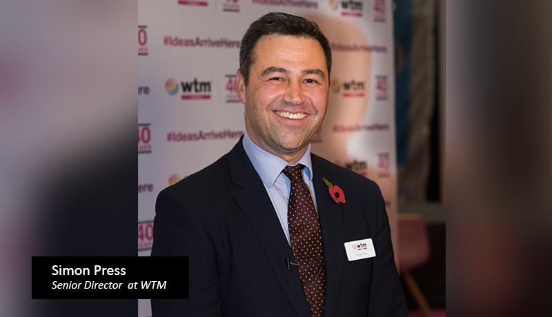 WTM-Senior-Director-Simon- Travel & tourism professionals - reconnect - WTM virtual today - Techxmedia
