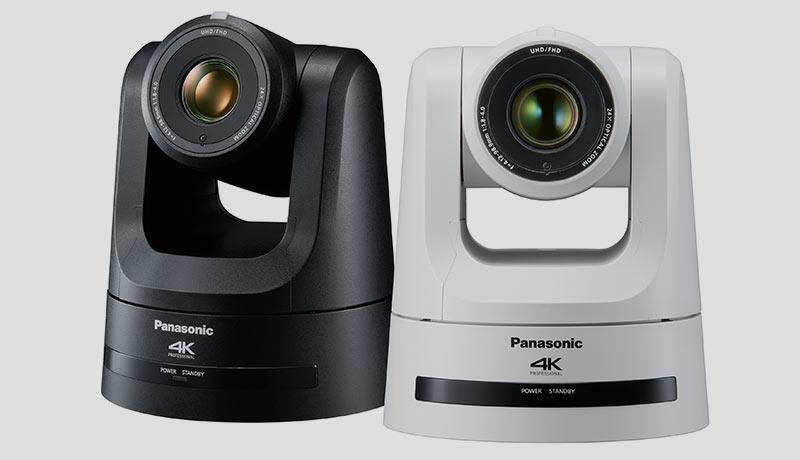 Panasonic- 4K PTZ Camera - shooting live videos - Techxmedia
