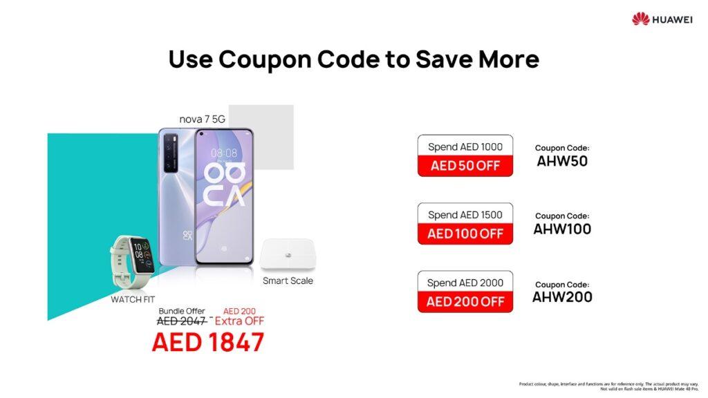 Huawei mega sale use coupon code -techxmedia