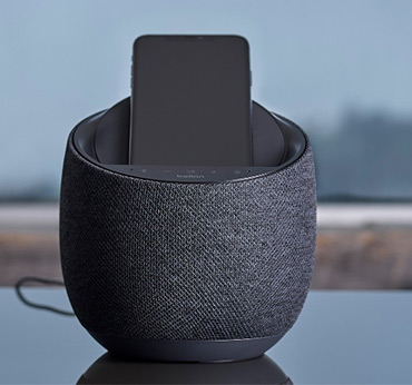 Belkin-SOUNDFORM-ELITE-Hi-Fi-Smart-Speaker-and-Wireless-Charger-techxmedia
