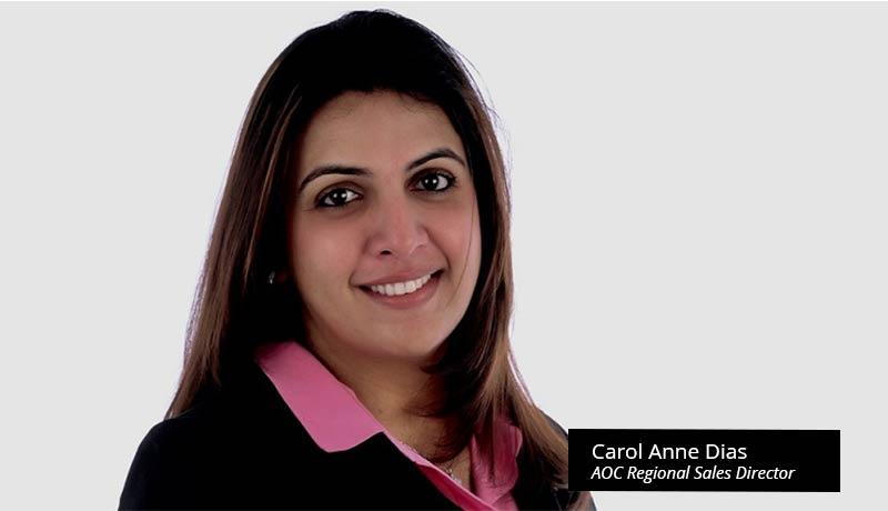 Carol-Anne-Dias--AOC-Regional-Sales-Director - AOC - Gaming Monitor - IDC - Techxmedia