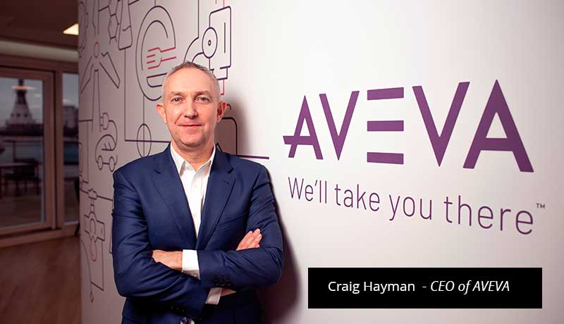 Craig-Hayman-vital role - data center - disruptive global economy - aveva- Techxmedia