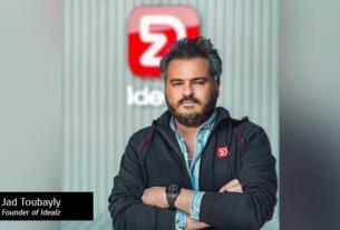 Jad Toubayly, Founder & CEO of Idealz-techxmedia