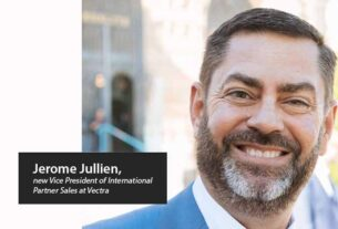 Jerome Jullien joins Vectra - International Partner Sales - Techxmedia