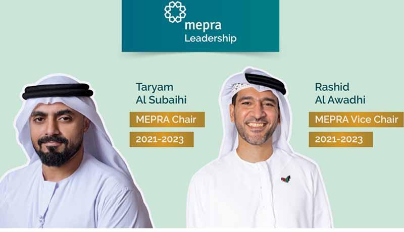 MEPRA - Emirati Nationals - new Chair - Vice Chair for 2021-23- TECHx