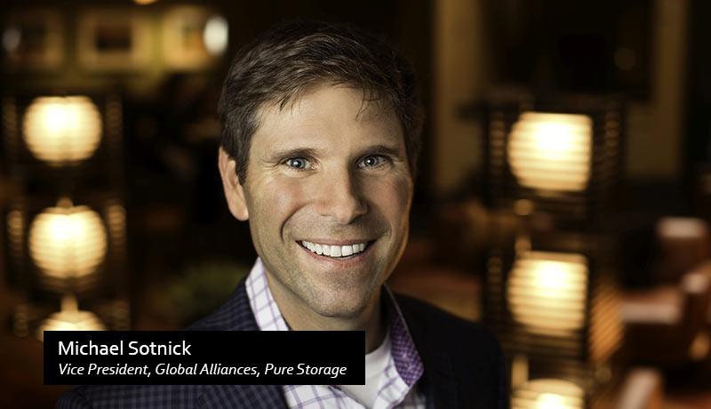 Michael-Sotnick,-Vice-President,-Global-Alliances - Pure Storage - AWS Marketplace - AWS - Techxmedia