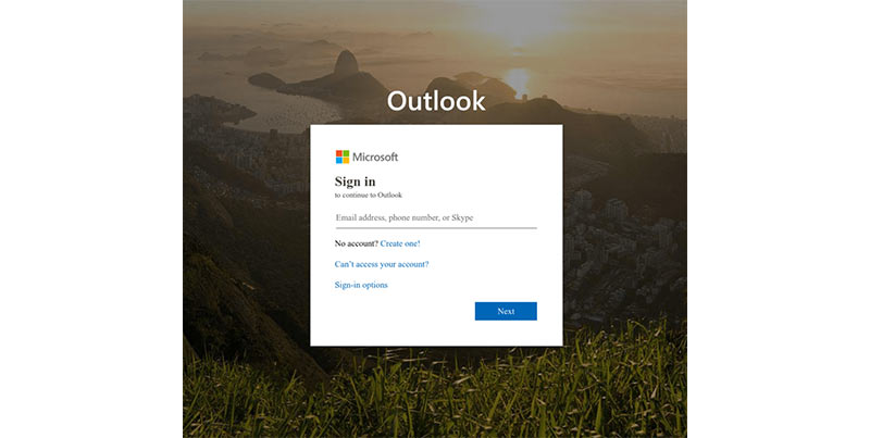 Phishing page from an older campaign via Urlscan - techxmedia