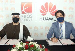 Ahmed-Badri - Eros Group - partnership agreement - Huawei - TECHx