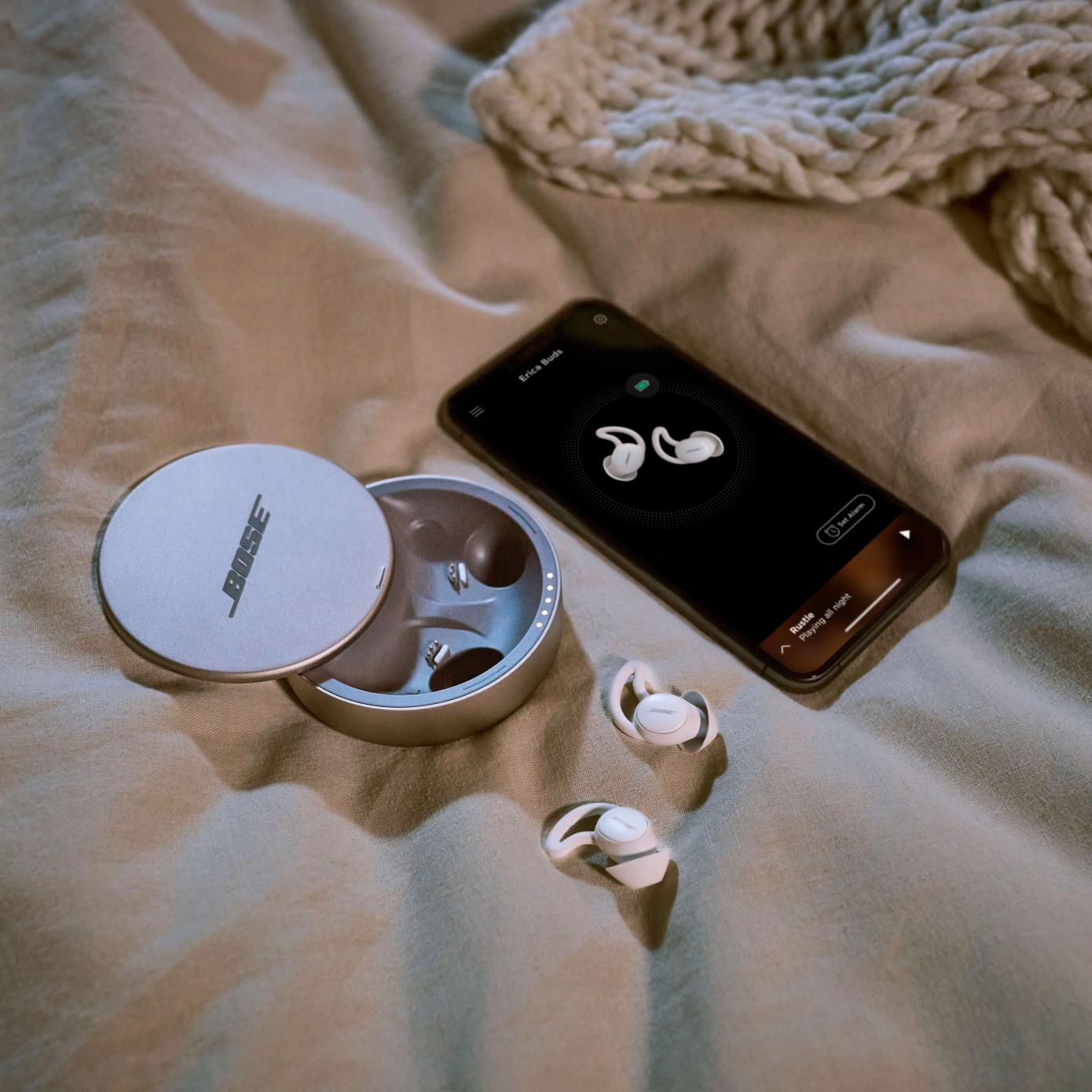 sleep-centric earbuds - TECHx