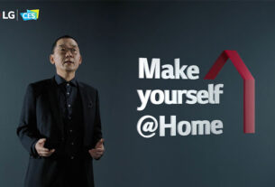 LG - rollable phone - virtual human influencer - LG CLOi robot -techxmedia