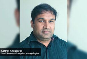 ManageEngine - Chief Technical Evangelist - Karthik Anandarao - techxmedia