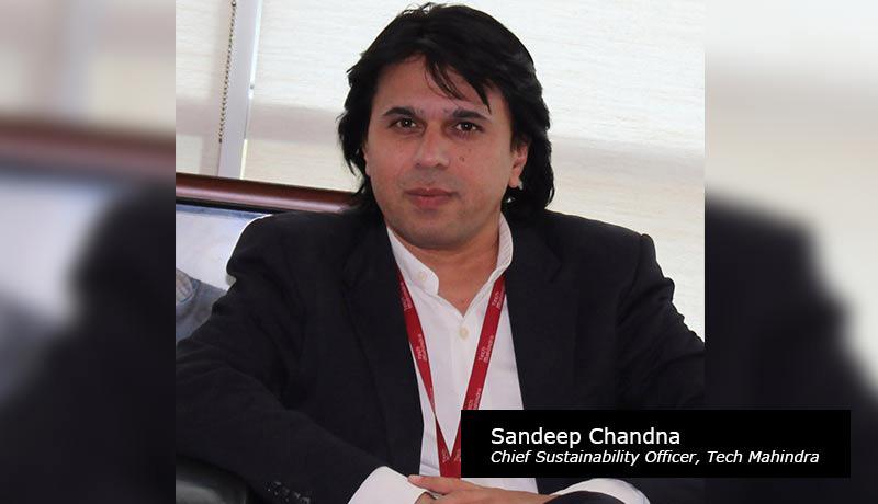 Sandeep Chandna, Chief Sustainability Officer, Tech Mahindra -techxmedia