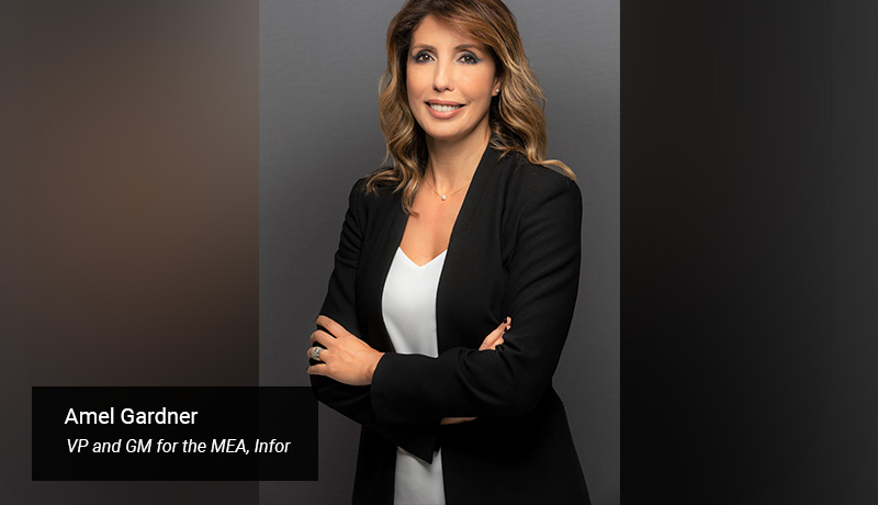 Amel Gardner as vice president and general manager for the Middle East and Africa region - techxmedia