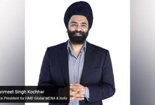 Sanmeet Singh Kochhar, Vice President for HMD Global MENA & India - techxmedia