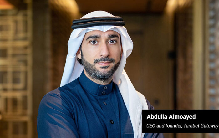 Abdulla Almoayed - CEO and founder of Tarabut Gateway - techxmedia