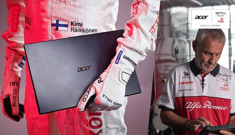 Acer - Sauber Motorsport - partnership in 2021 - techxmedia