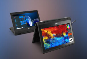 Acer - introduces - TravelMate Spin B3 Laptop - classrooms - techxmedia